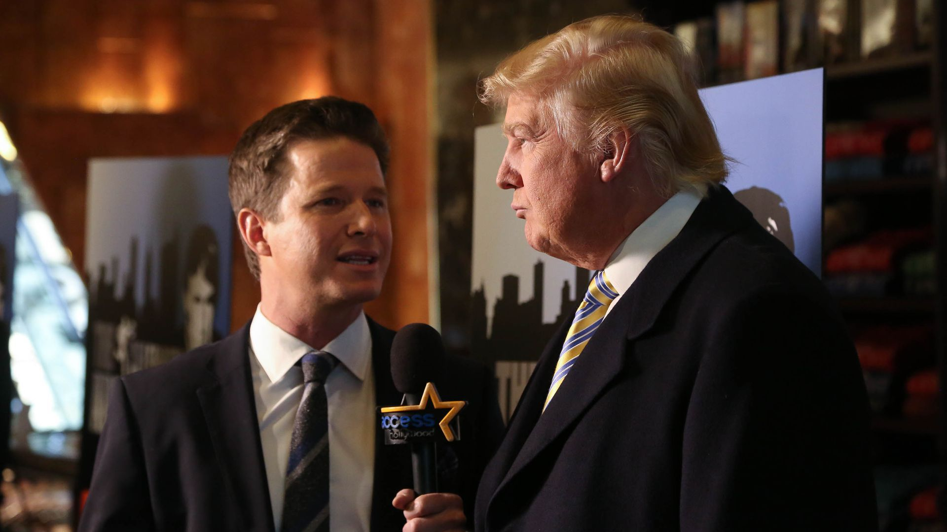 Billy Bush interviewing Trump