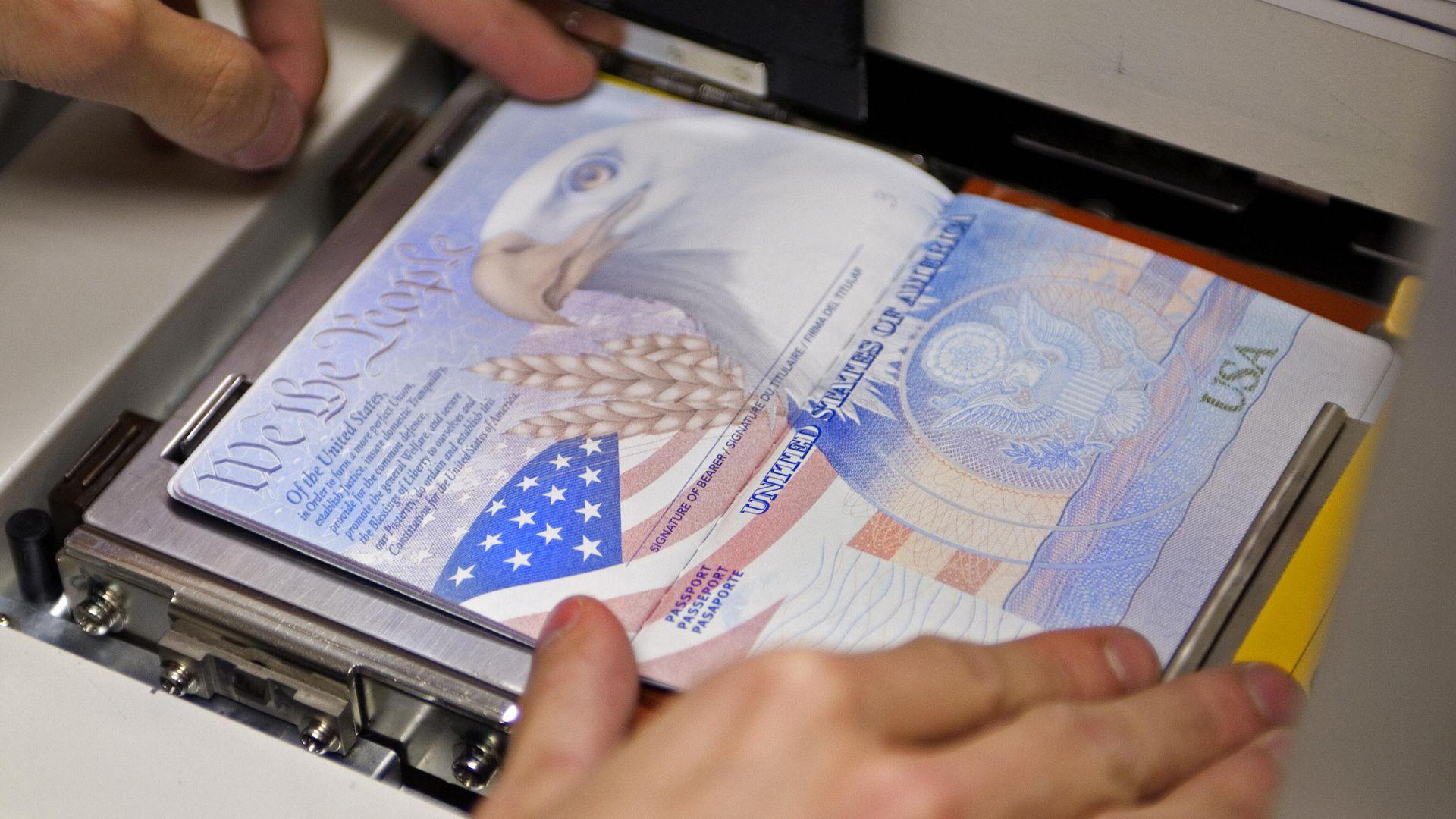 A United States passport