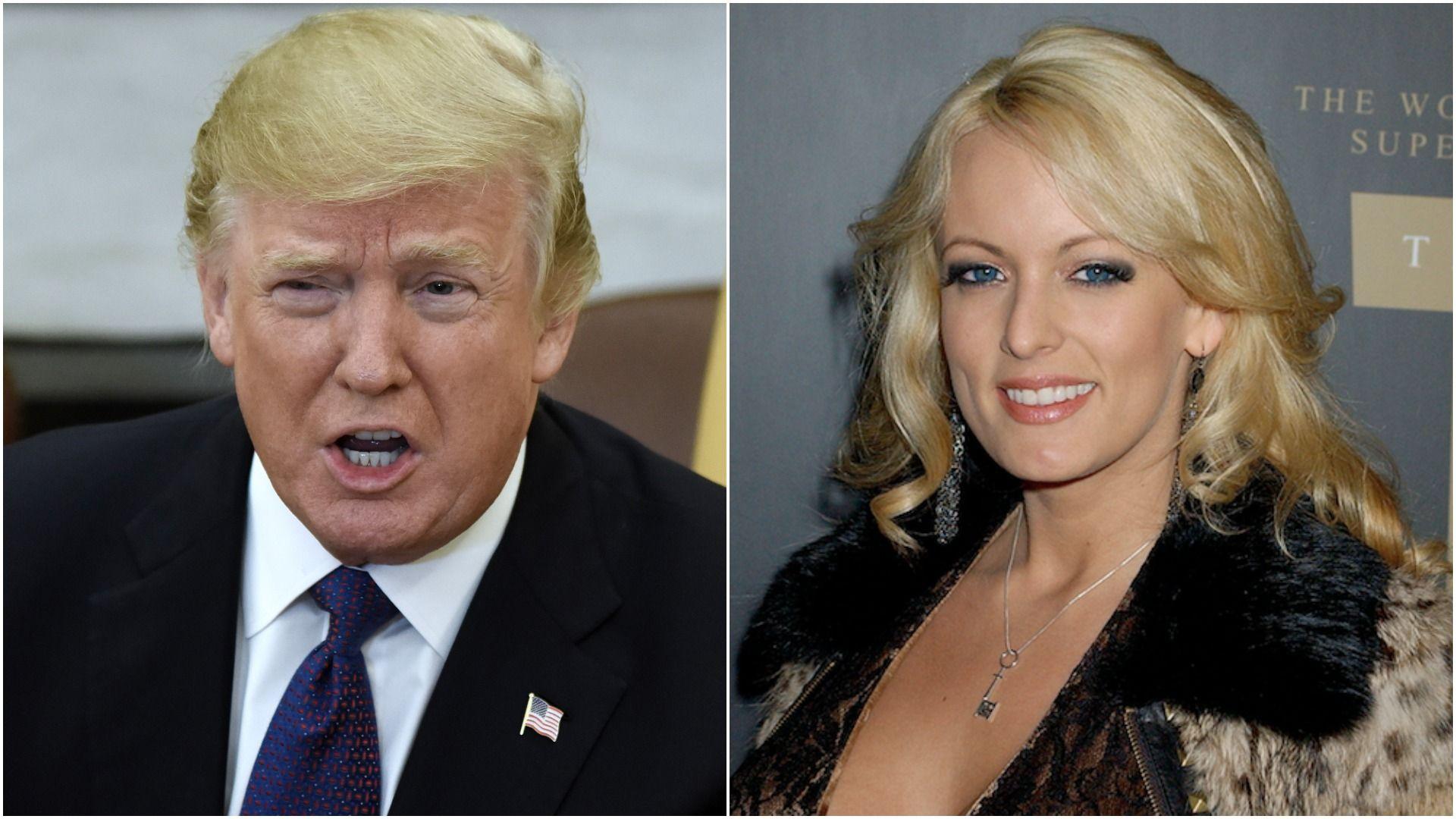 Trump, Porn actress Stormy Daniels