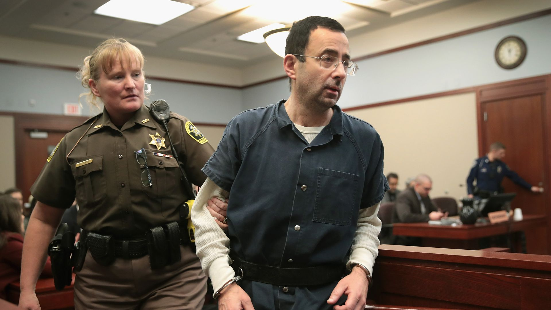 Larry Nassar. Photo: Scott Olson/Getty Images