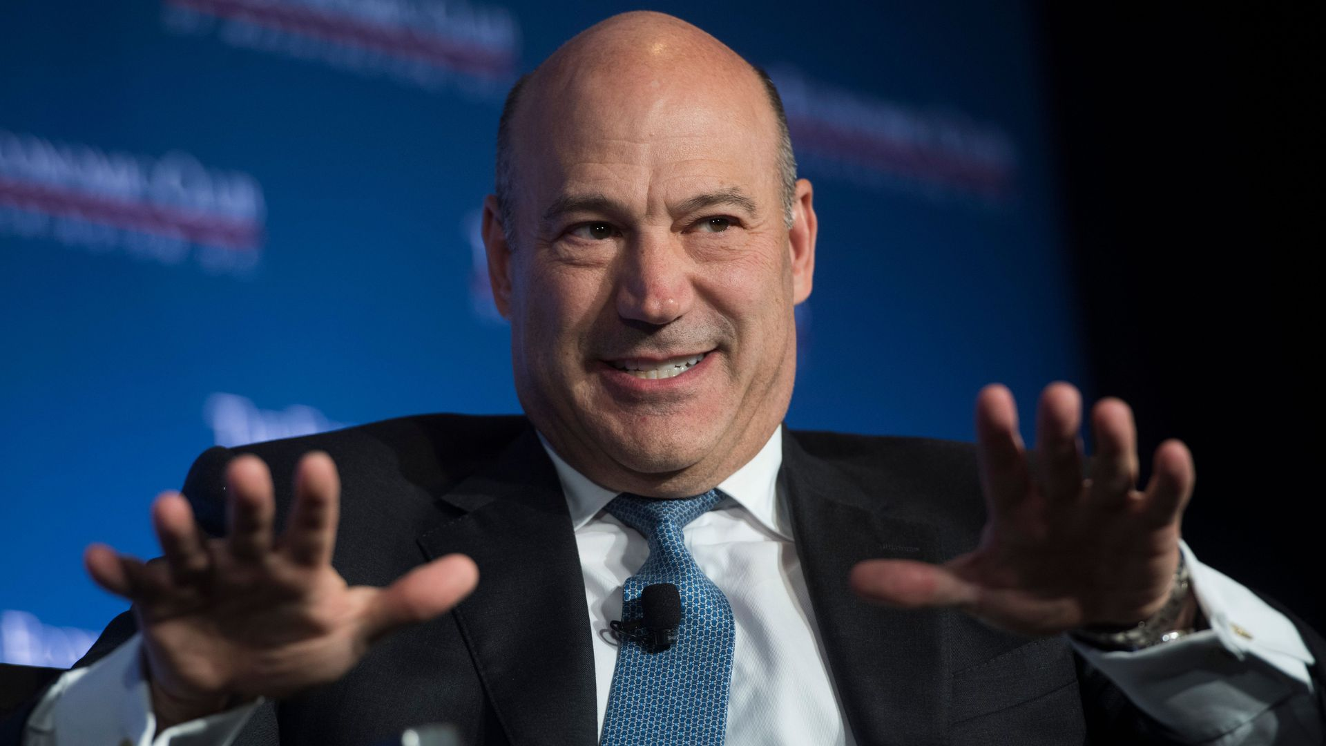 Former Director of the National Economic Council Gary Cohn speaking.