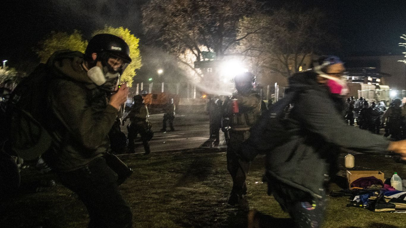"""""""Chilling"""": Minnesota governor denounces alleged police violence against media thumbnail"""
