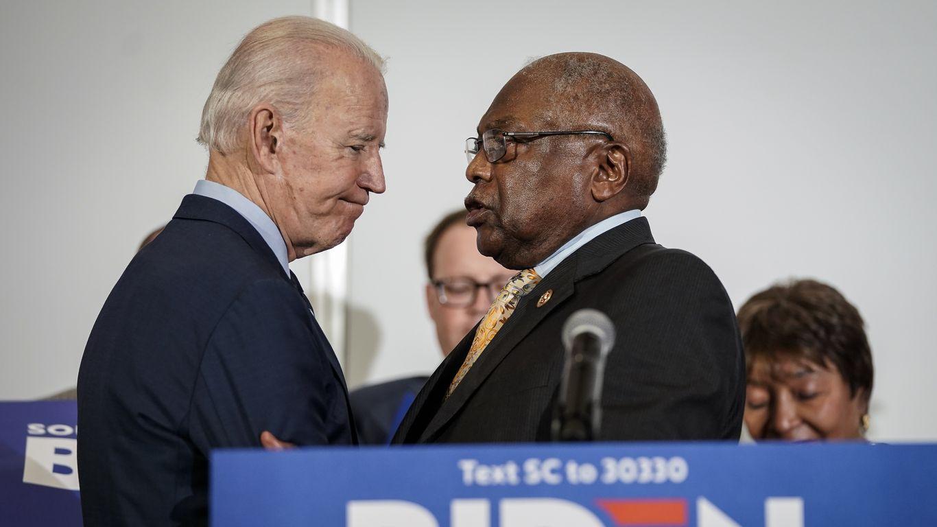 Clyburn says Biden not naming enough Black Cabinet members