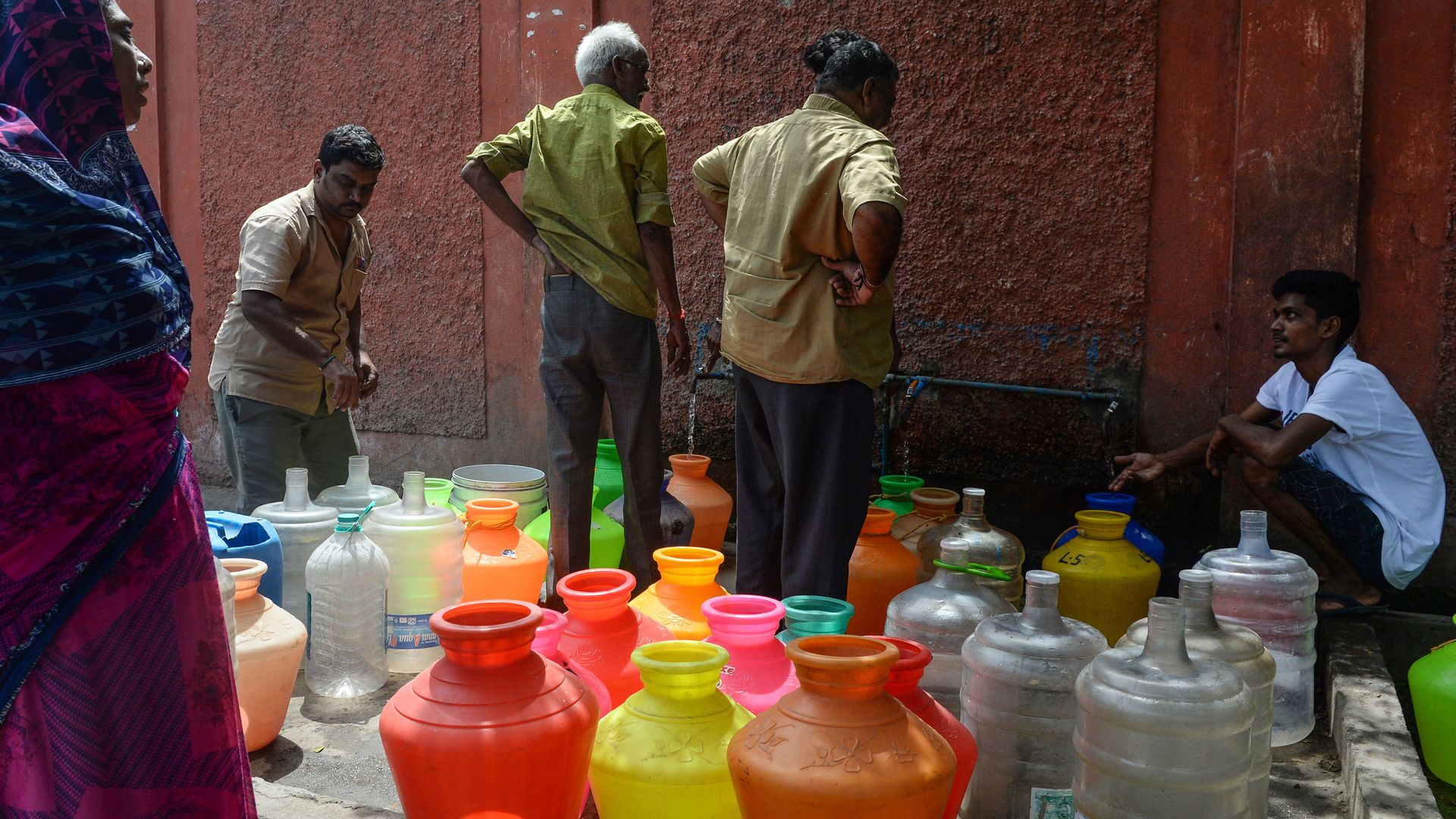 Chennai water crisis leaves millions in India struggling for access