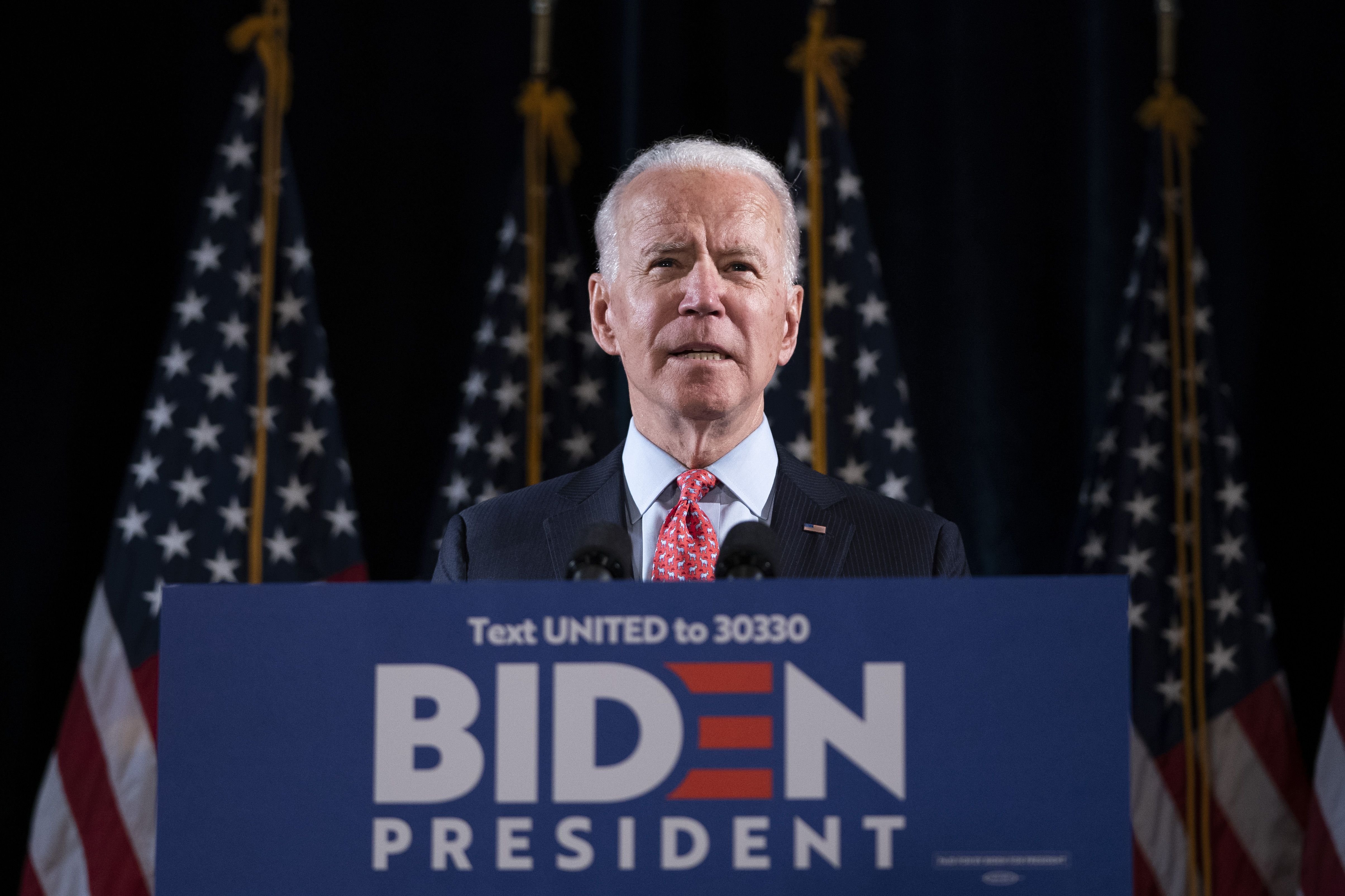 Joe Biden's campaign gets backing from two major Dem groups