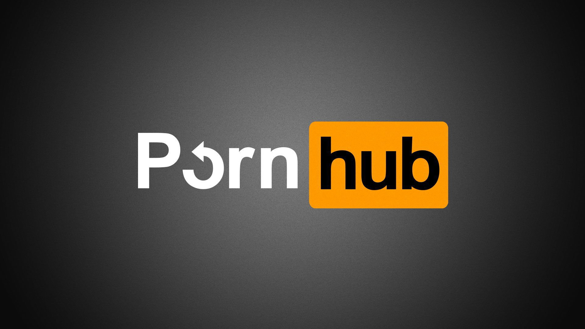 Illustration of the PornHub logo with a change icon replacing the O