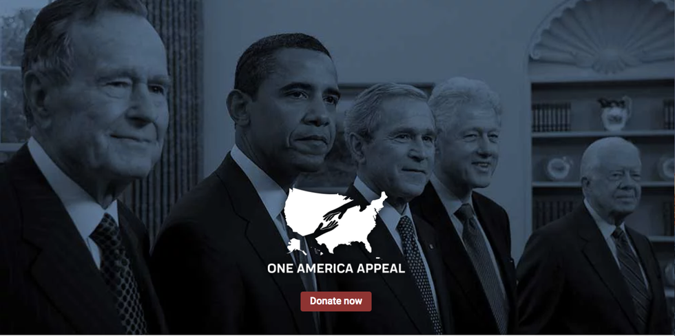 All five living former presidents are raising money for Puerto Rico - Axios