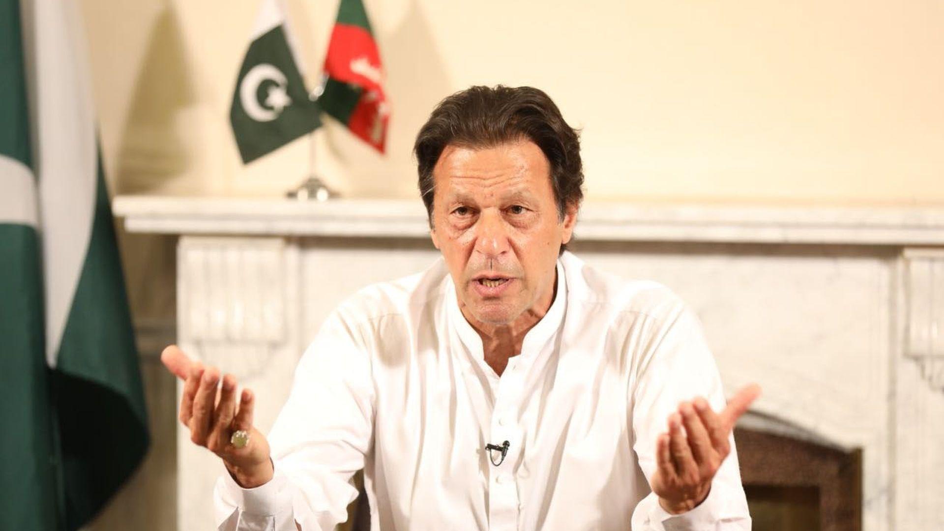 Pakistani prime minister Imrah Khan