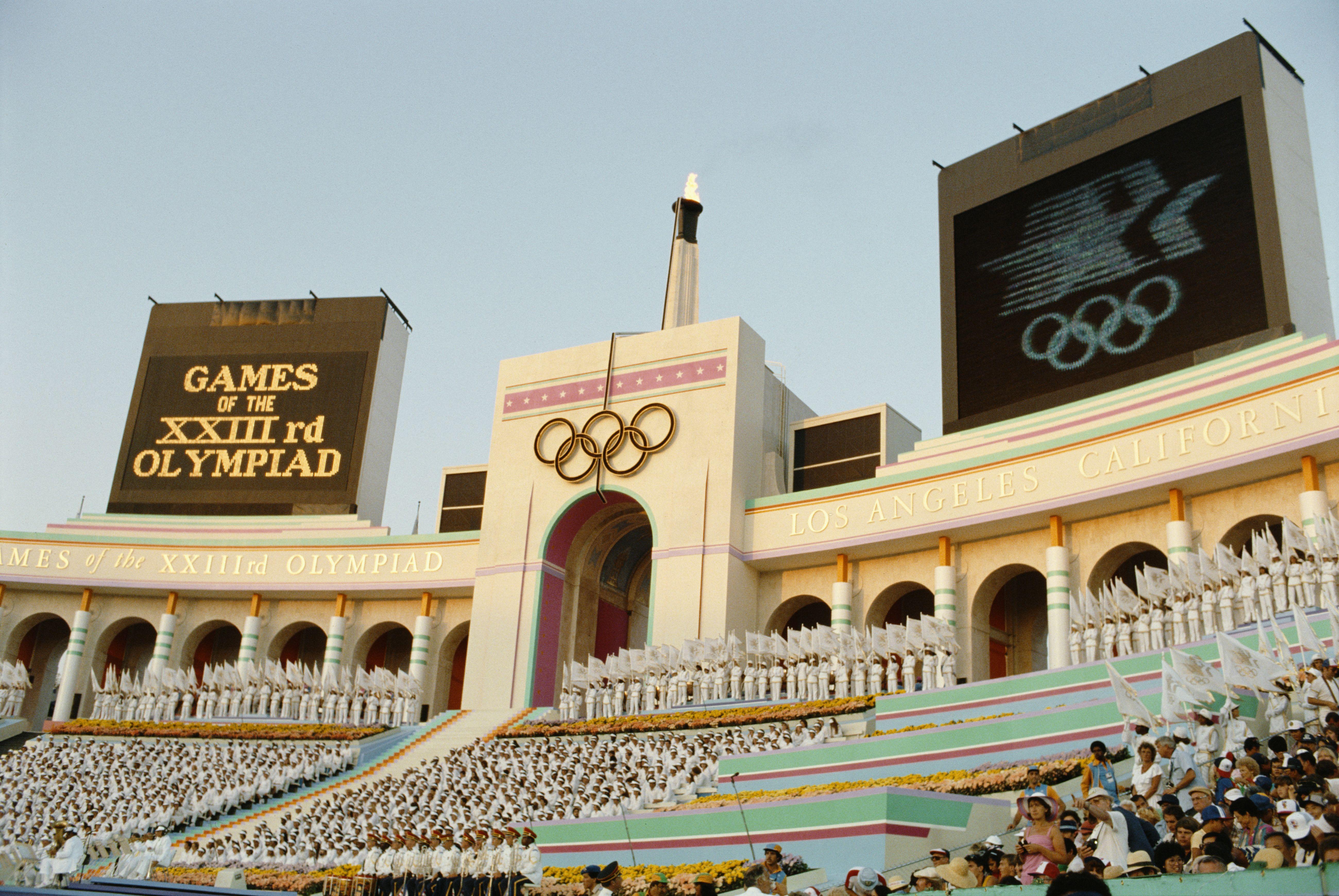 LA Olympic stadium
