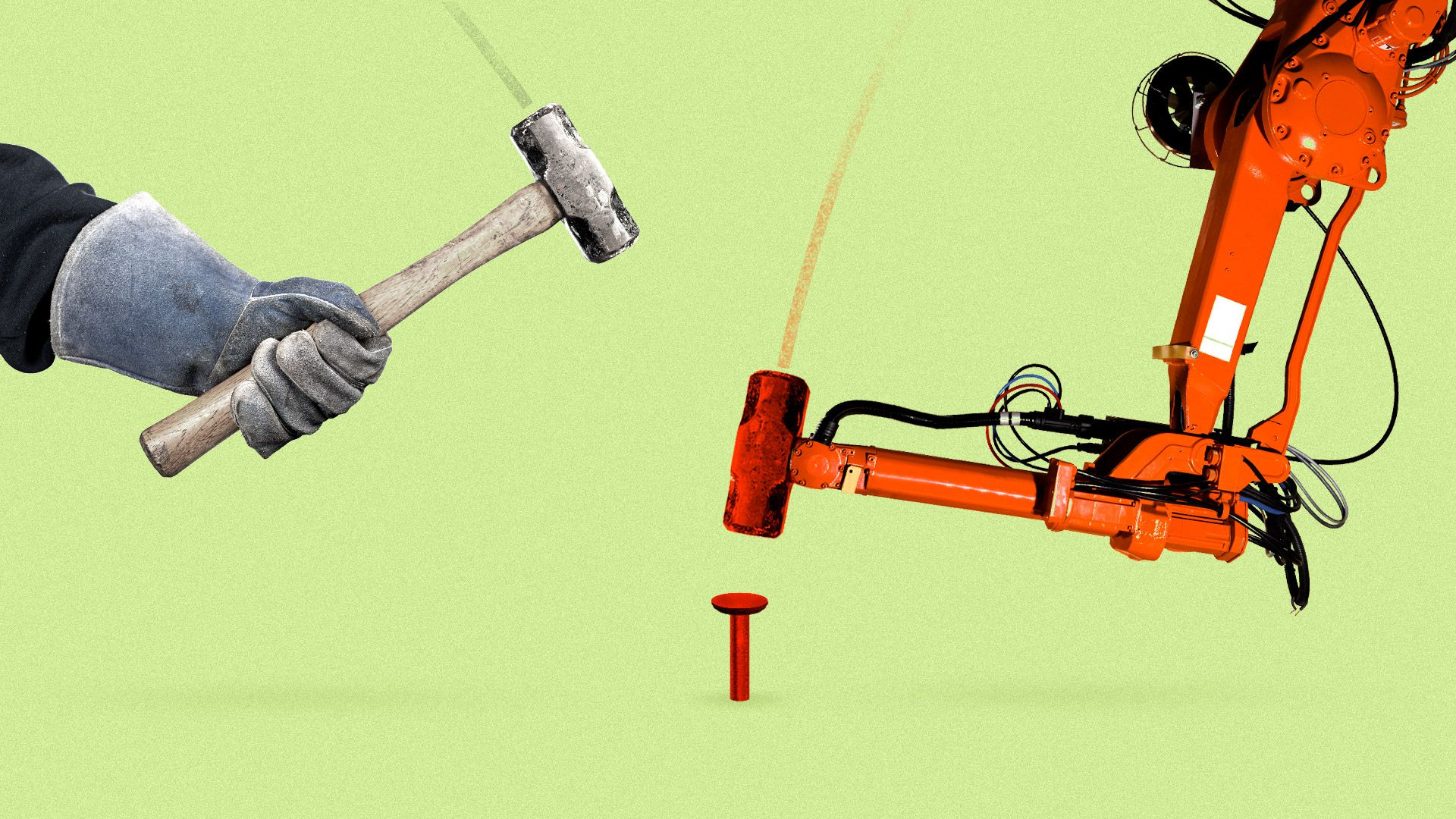 Shock report: Machines will do half our labor in less than 8