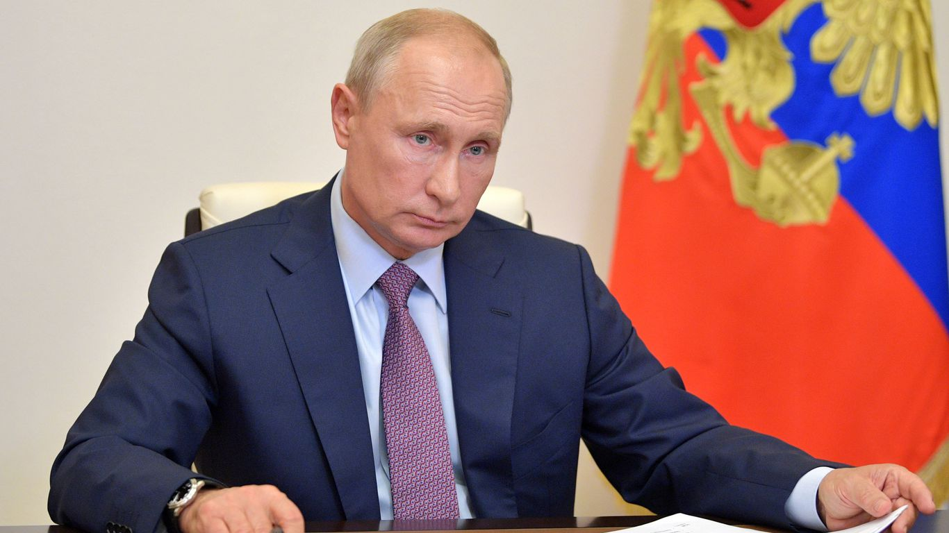 <p>Scoop: Biden admin call on Putin pipeline provokes GOP anger thumbnail