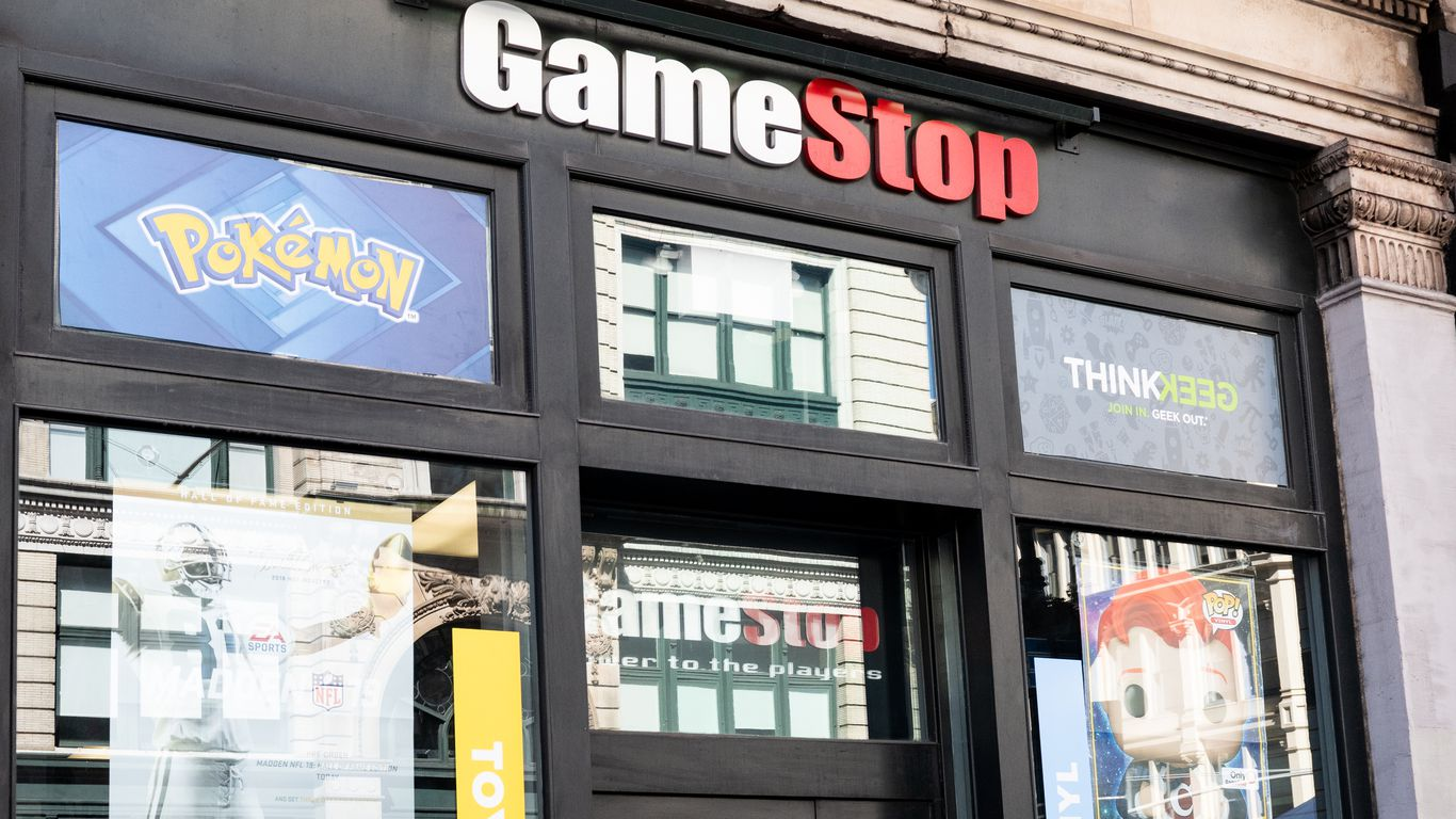 GameStop leads another day of nostalgia trading