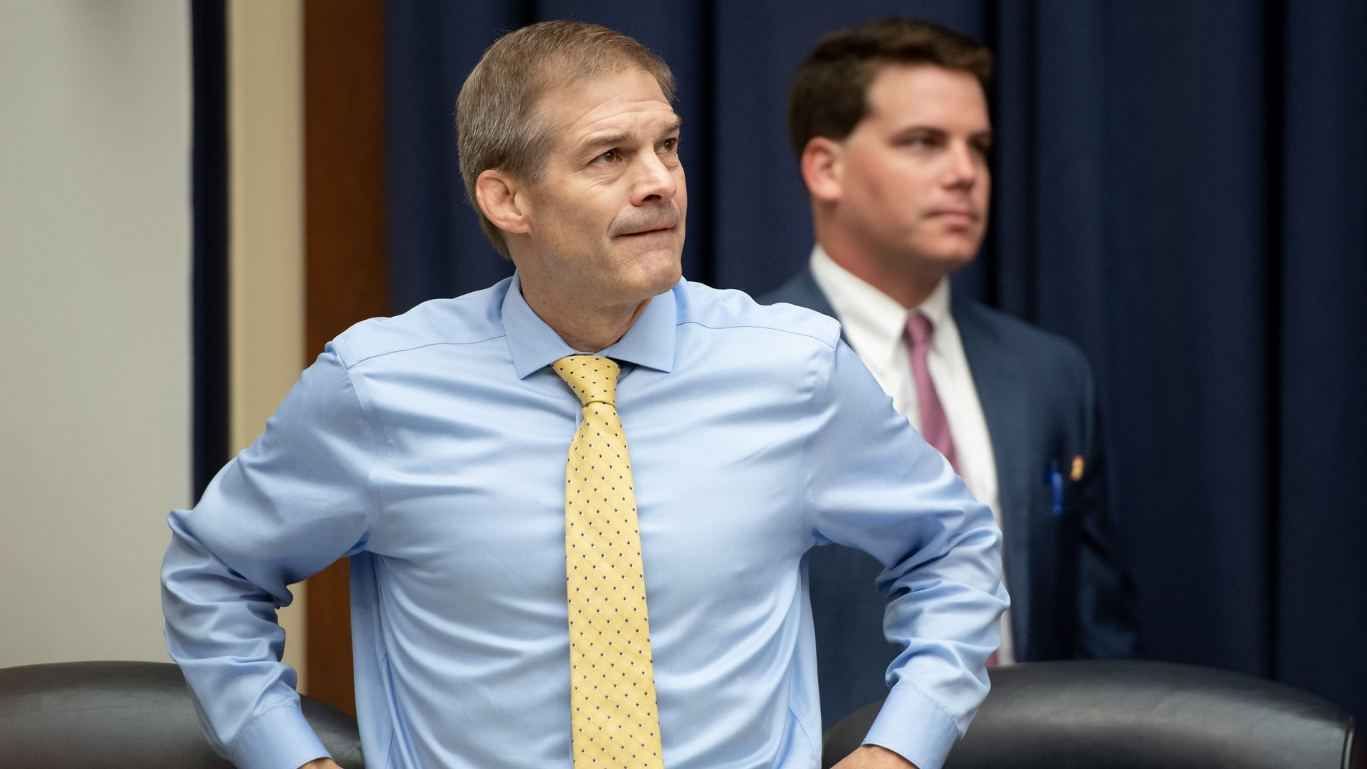 Jim Jordan at a committee meeting.