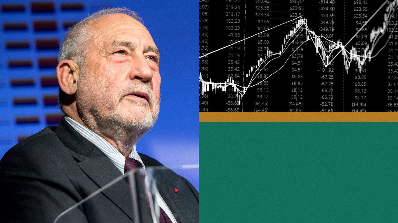 "Biden's spending plans may indicate""a new world,"" says Nobel Prize winner Joseph Stiglitz thumbnail"