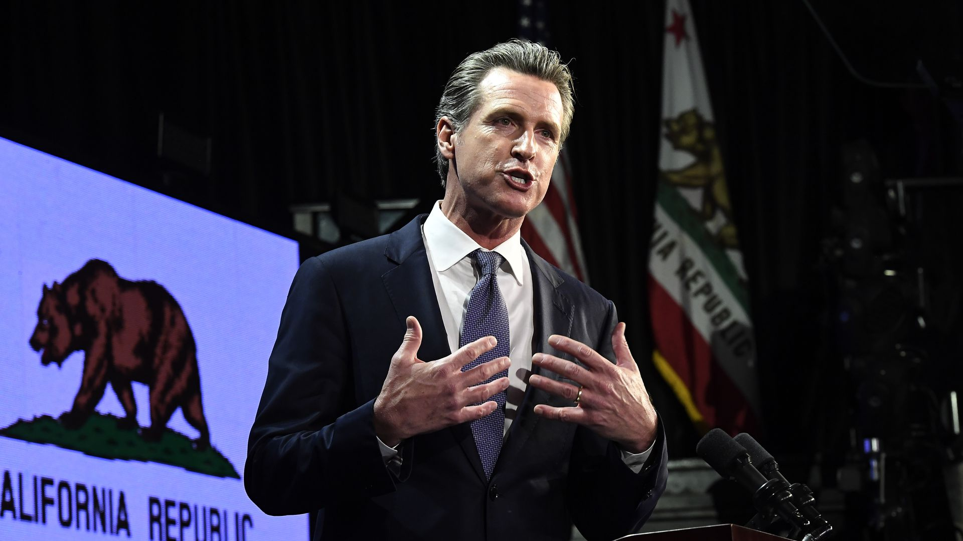 California Gov. Gavin Newsom says the death penalty is discriminatory and immoral.