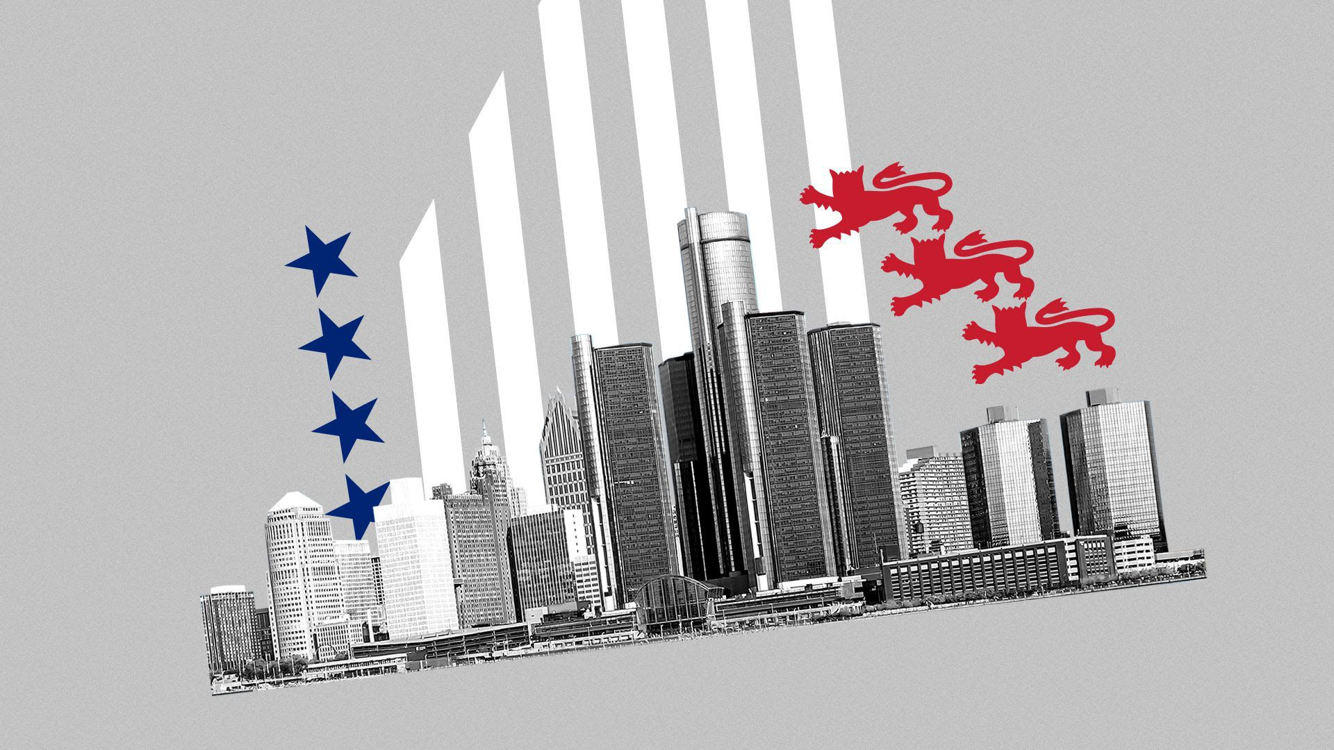 An illustration of Detroit.