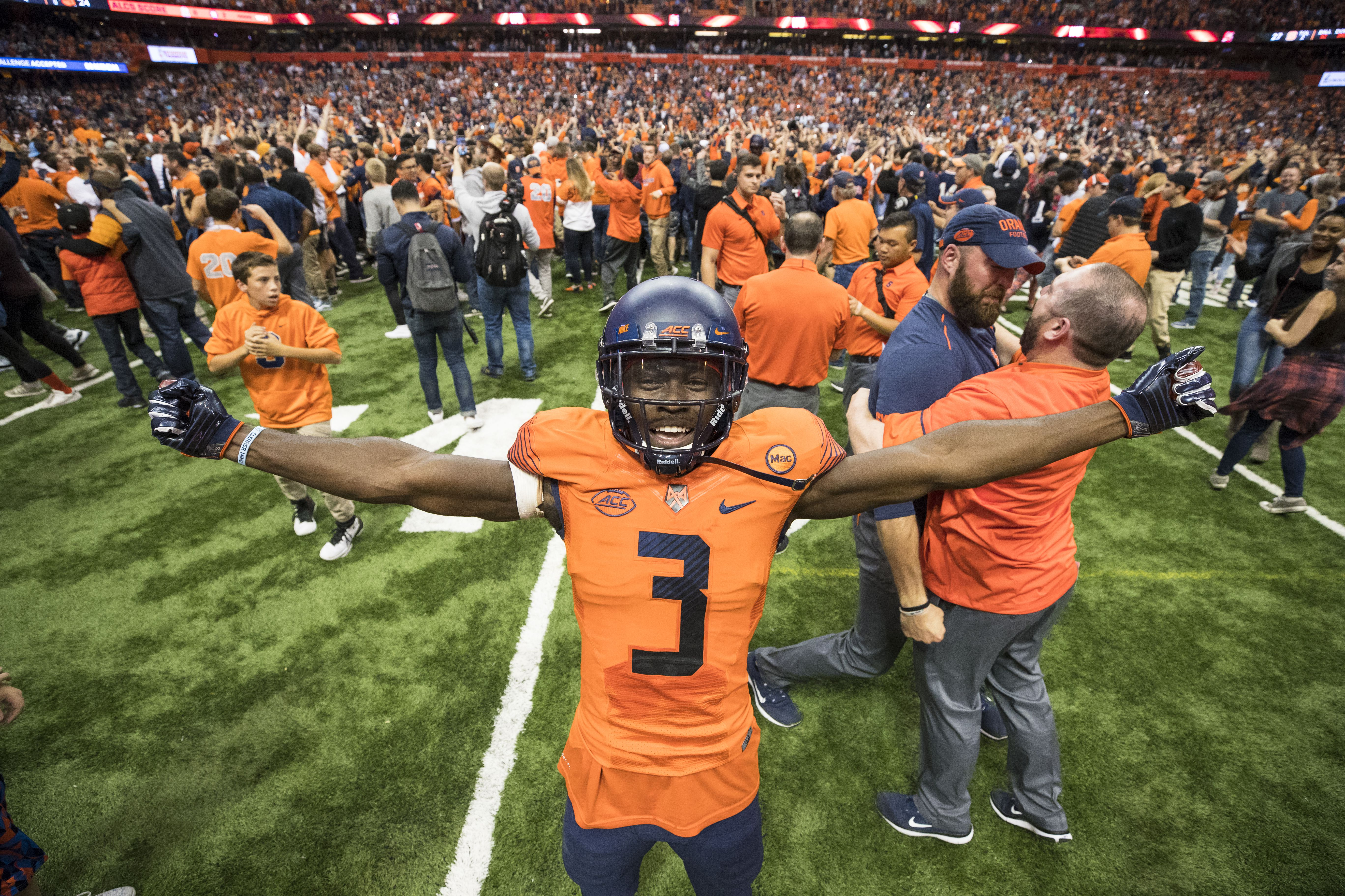 Syracuse after beating Clemson