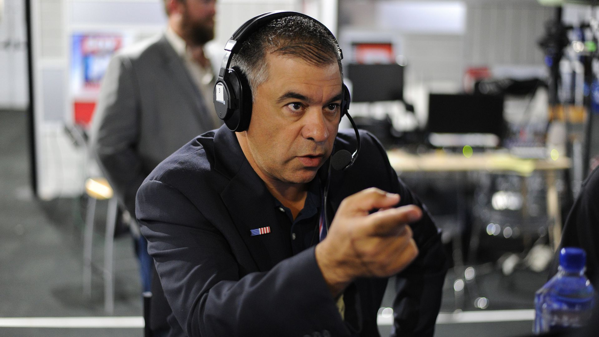 David Bossie. Photo: Ben Jackson/Getty Images for SiriusXM