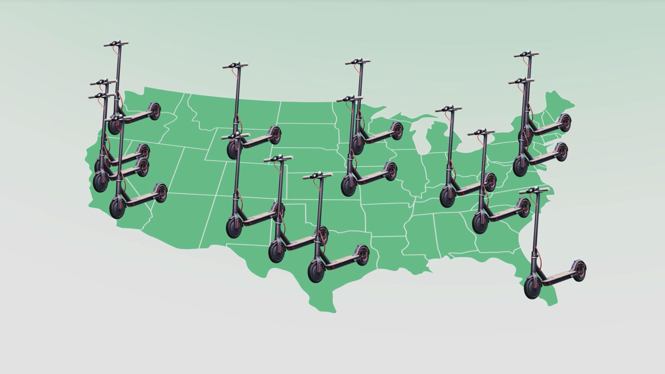 Image for story about dock-less scooter companies