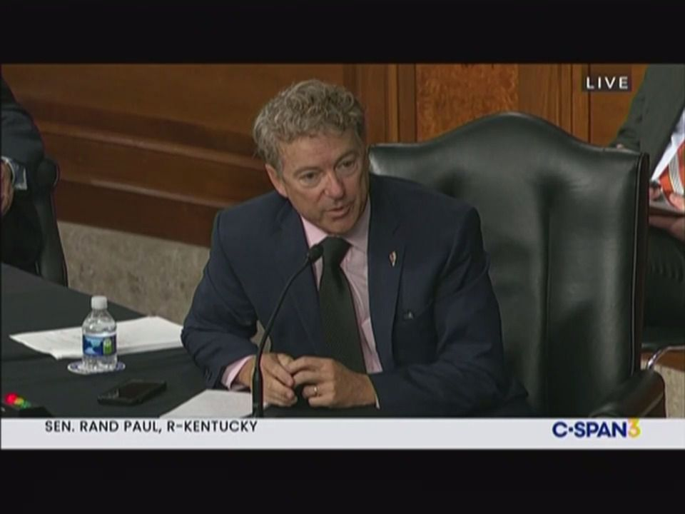 "Fauci clashes with Rand Paul at COVID hearing: ""You're not listening"""