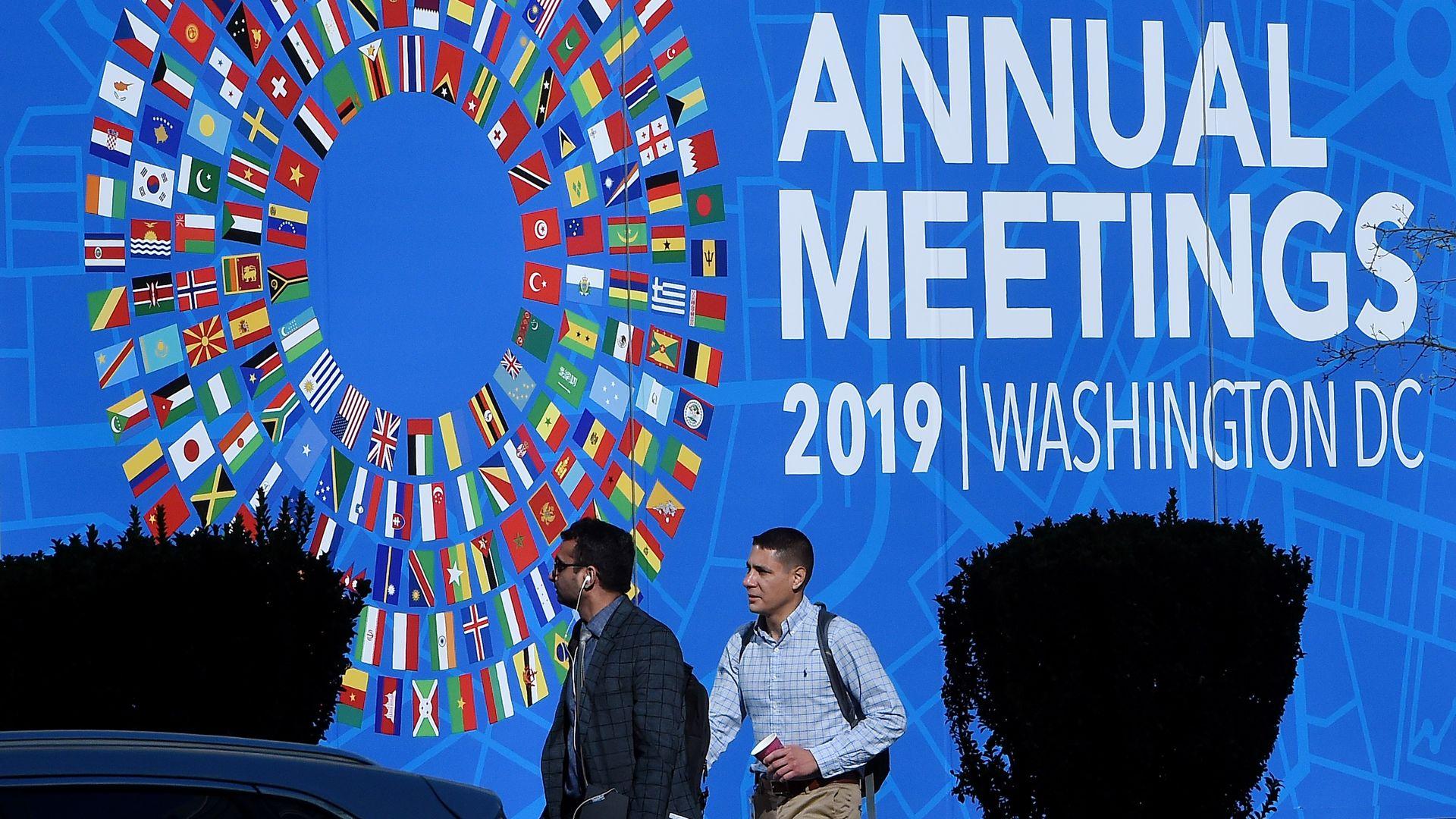 IMF Annual meetings