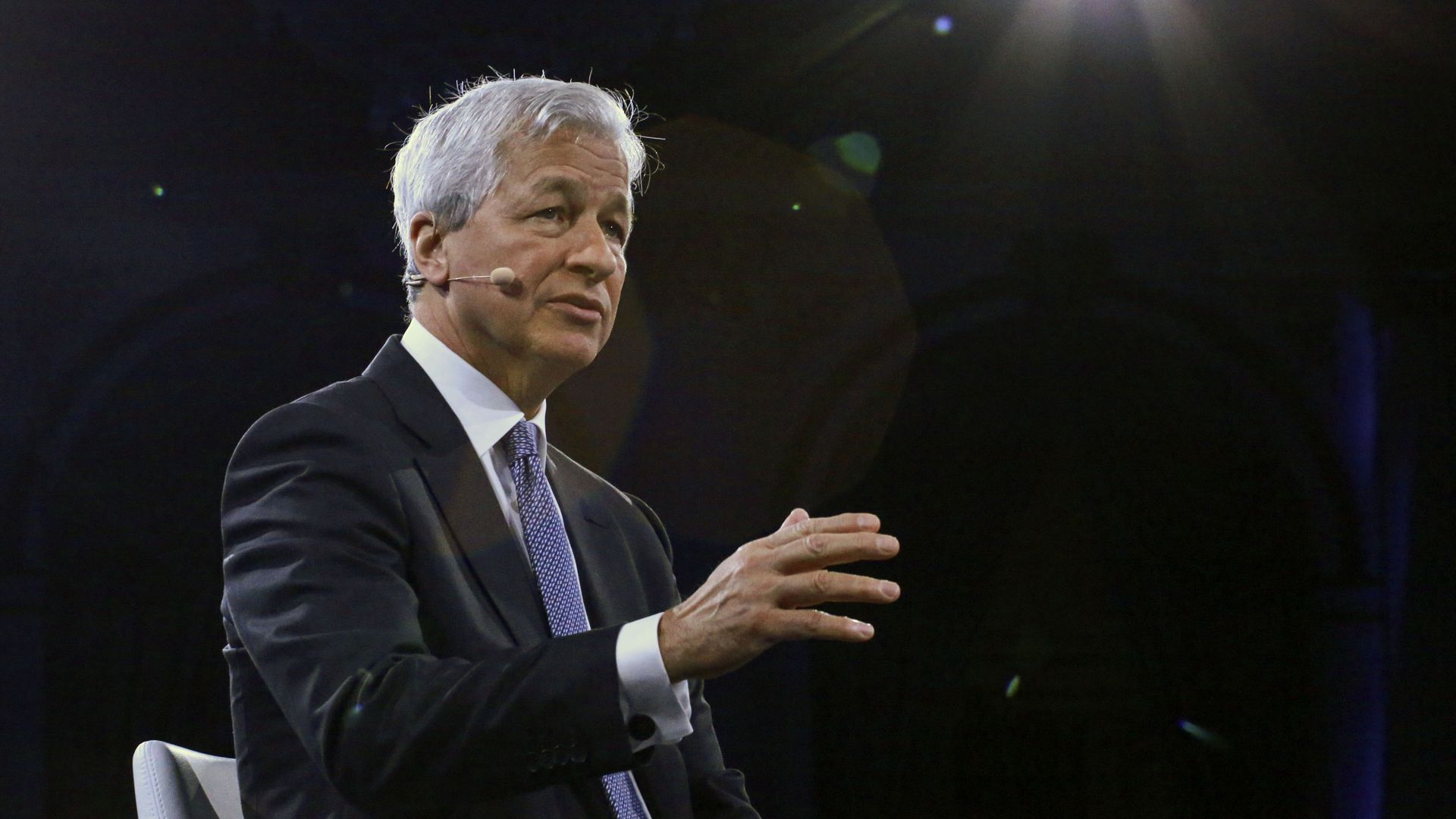 Jamie Dimon, chairman & CEO of JP Morgan Chase