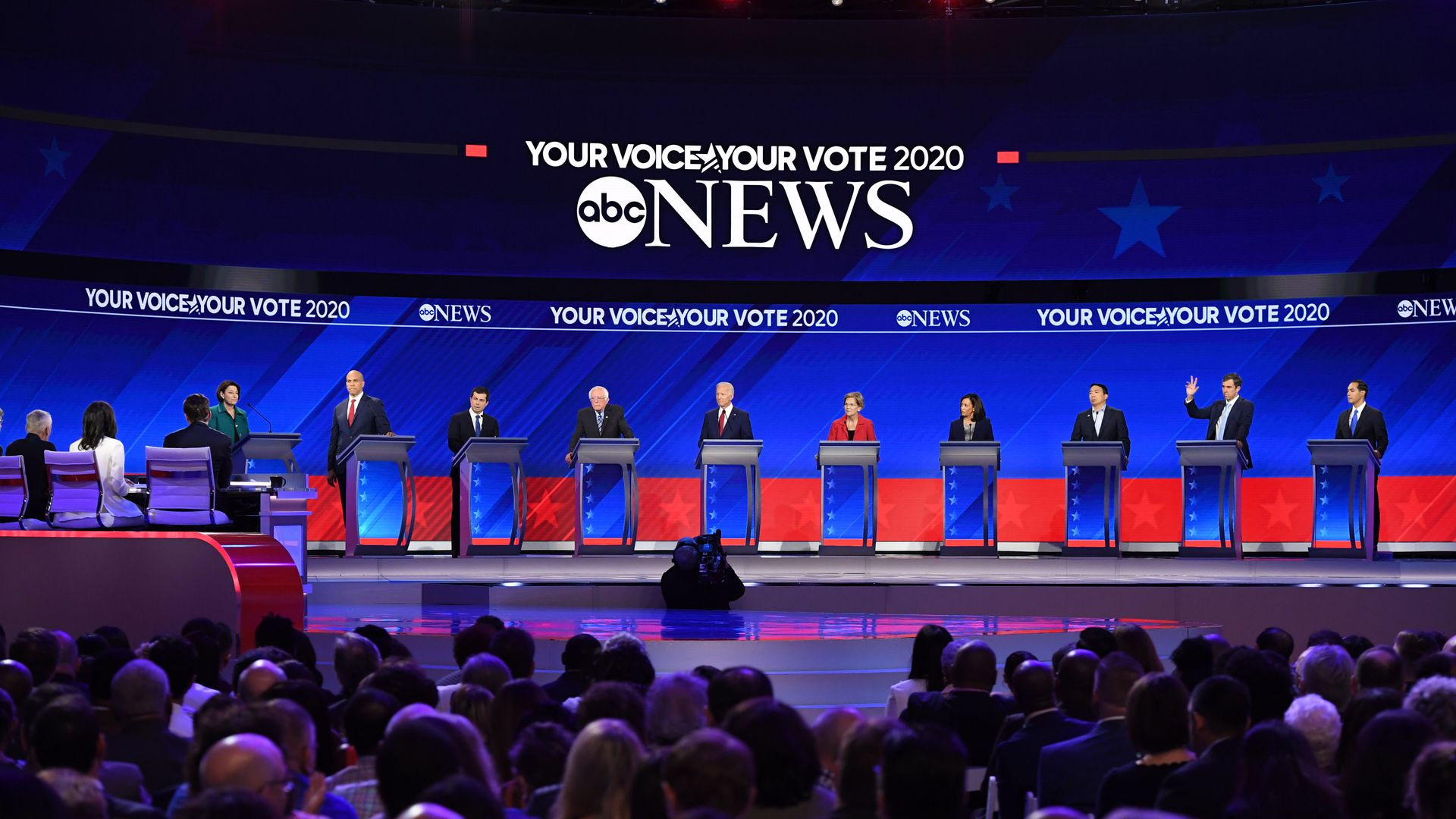 Early debate ratings show high interest in the Democratic primaries