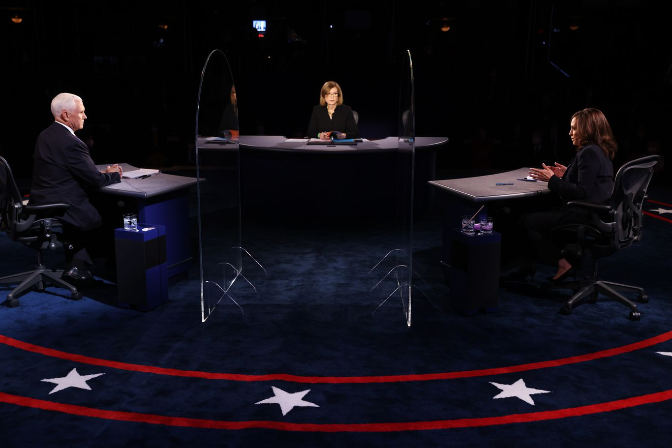 """""""Was justice done?"""": A Pence-Harris debate question that showcased America's deep divisions thumbnail"""