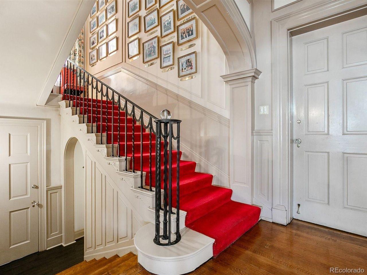 1350 N. Logan St stairs