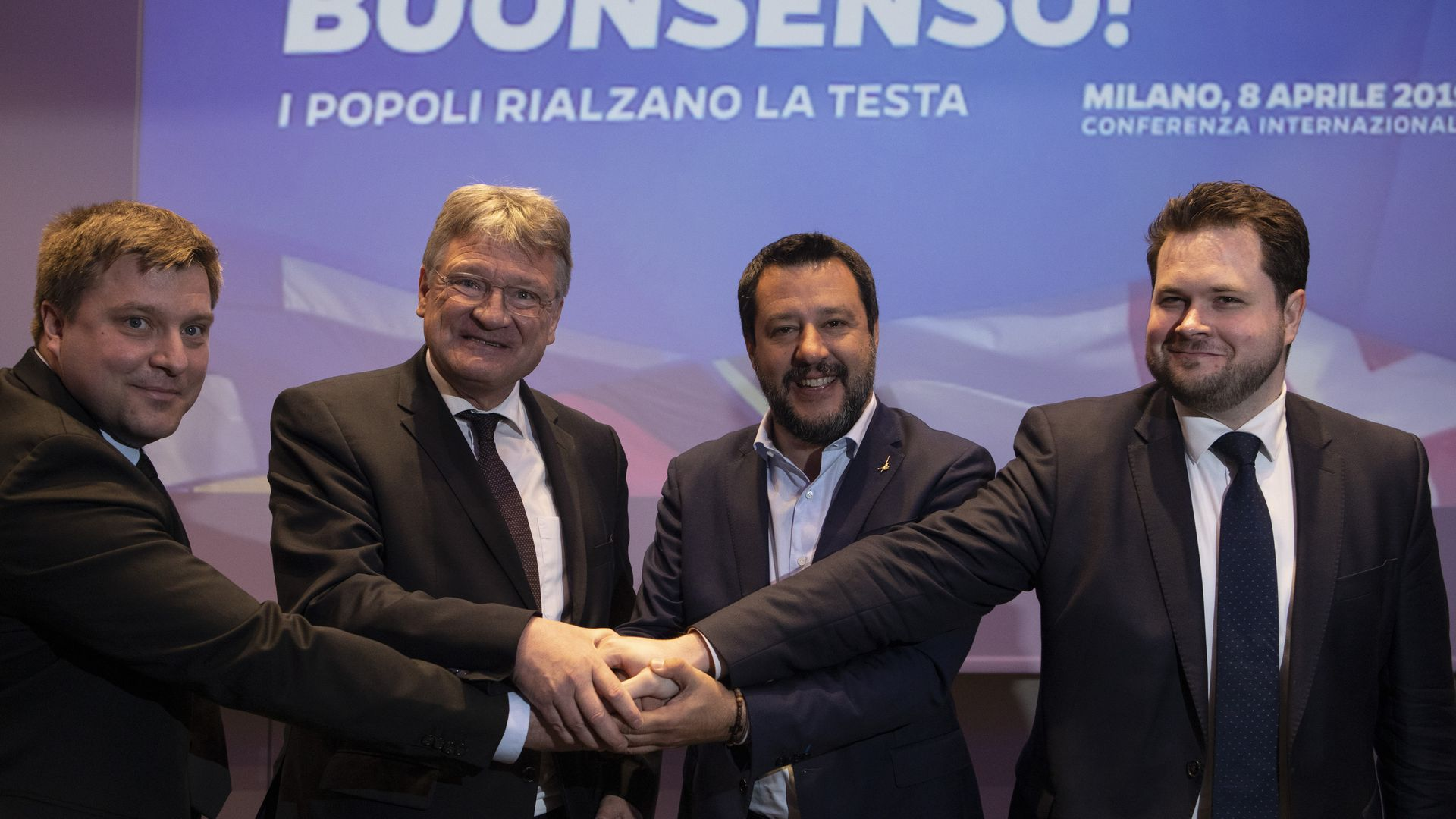 European populists join hands