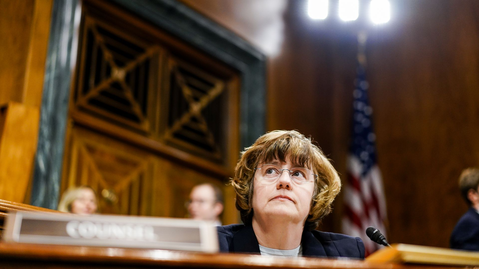 Rachel Mitchell in court