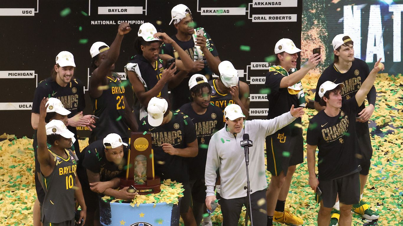 In photos: Baylor ends Gonzaga's winning streak to win first NCAA title thumbnail