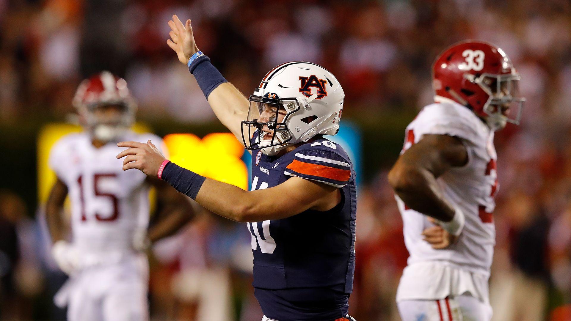 Alabama S Loss To Auburn Sets Up A Final College Football