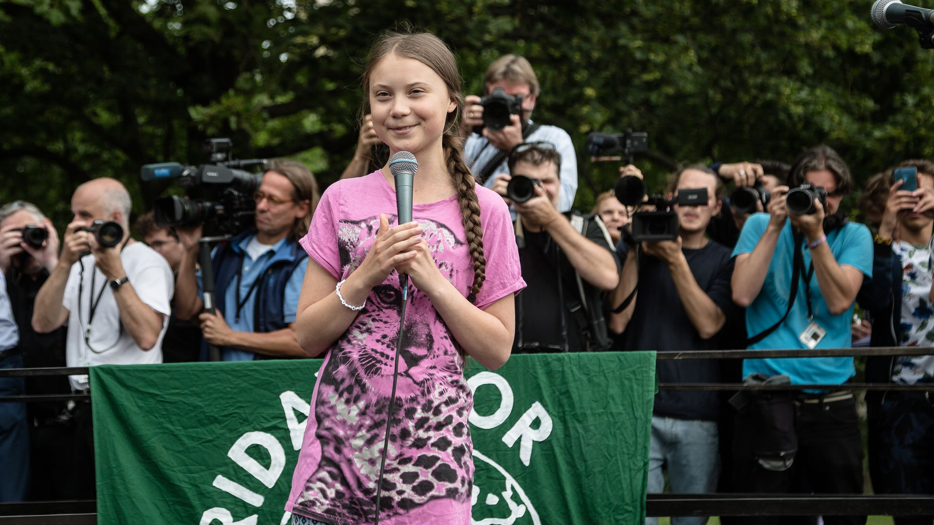 Greta Thunberg to visit Standing Rock Reservation, site of #NoDAPL protests
