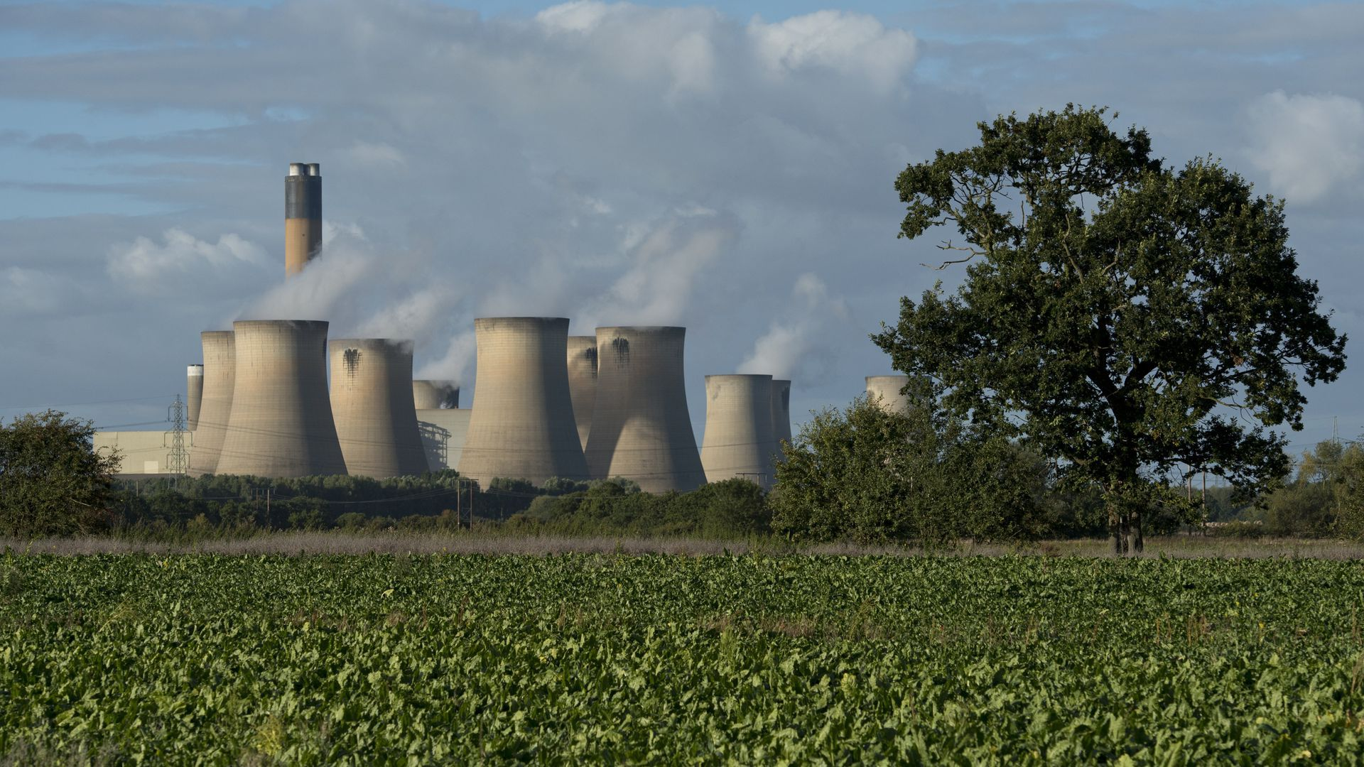 Coal plant image for item on carbon capture tax credit