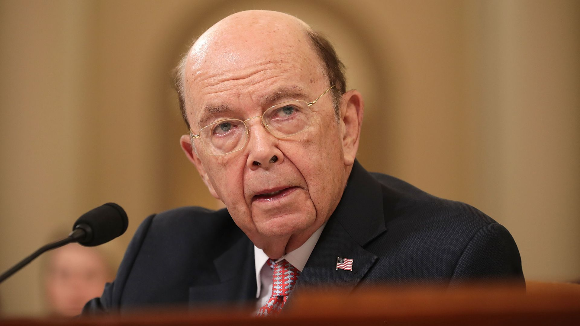U.S. Commerce Secretary Wilbur Ross testifies before the House Ways and Means Committee in the Longworth House Office Building on Capitol Hill March 22, 2018 in Washington, DC.
