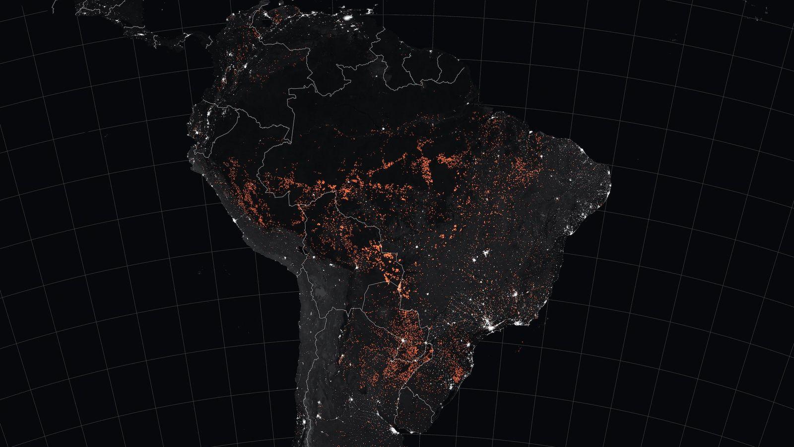 haute qualité prix limité gamme de couleurs exceptionnelle Amazon fires: Impact on rainforest in and around Brazil — in ...