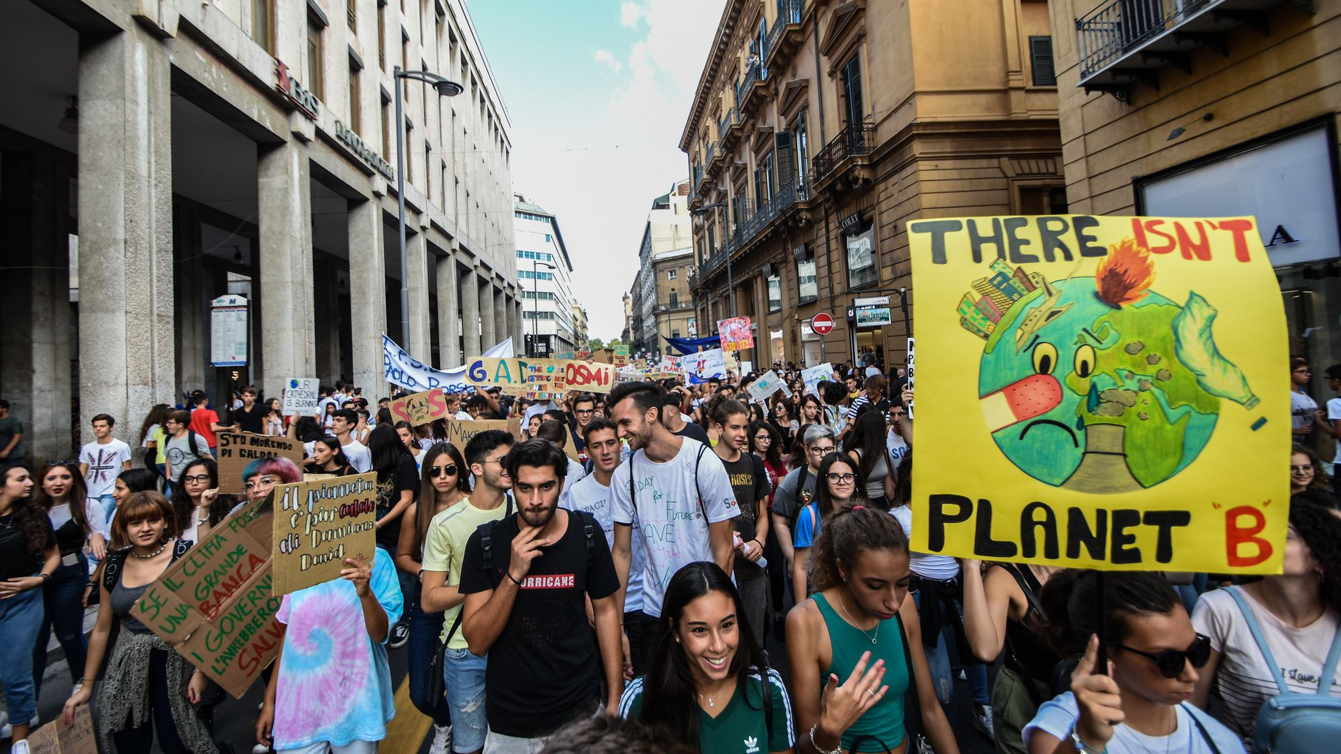 Italy becomes first country to require students to learn about climate change