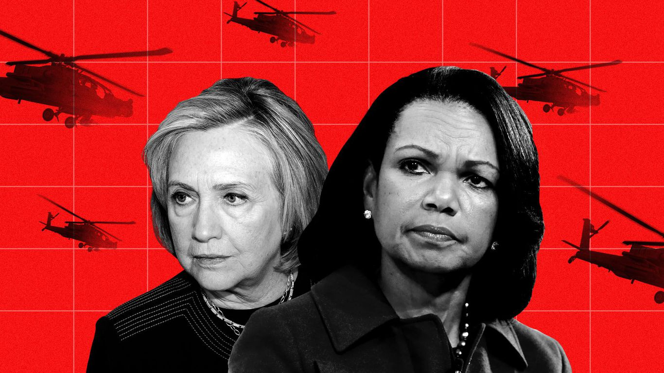 Hillary Clinton, Condi Rice sound alarm over Afghanistan troop withdrawal thumbnail