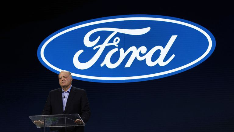 Photo of Ford CEO Hackett