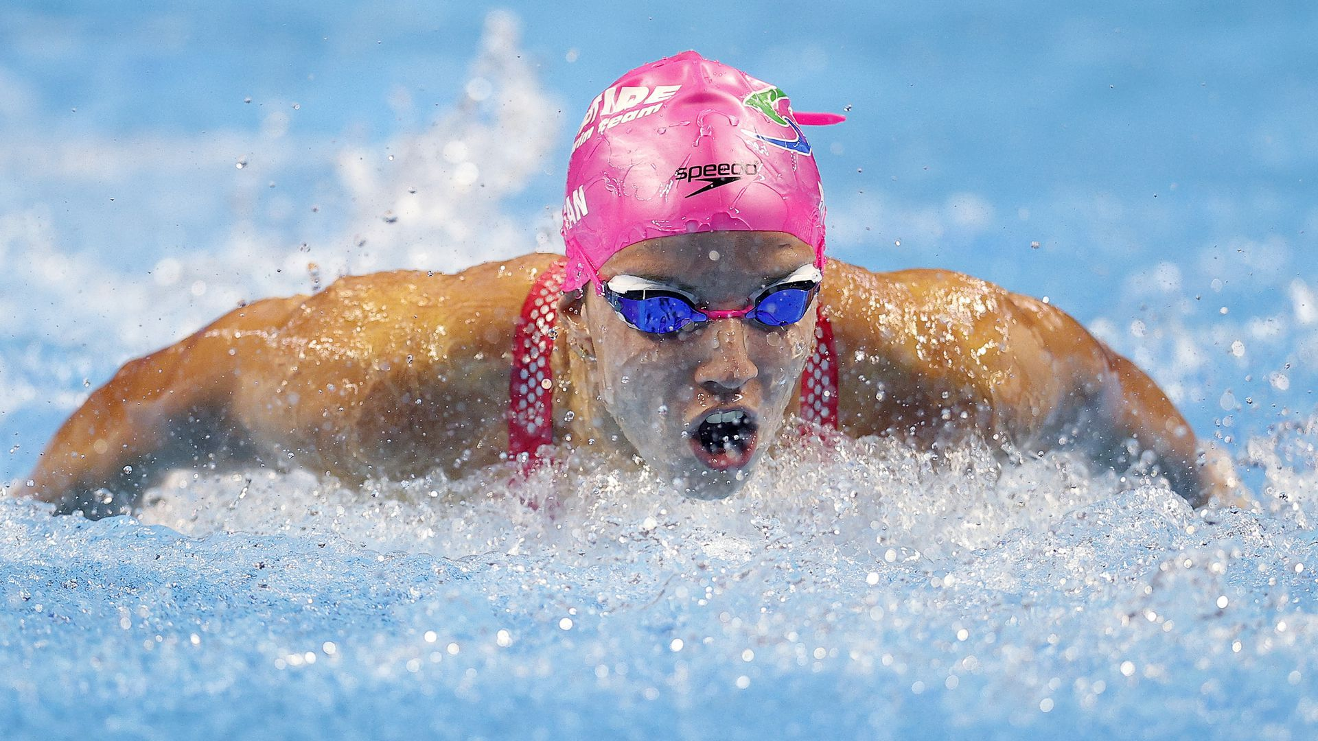 Swimmer Regan Smith competes in Tokyo Olympics qualifying trials.