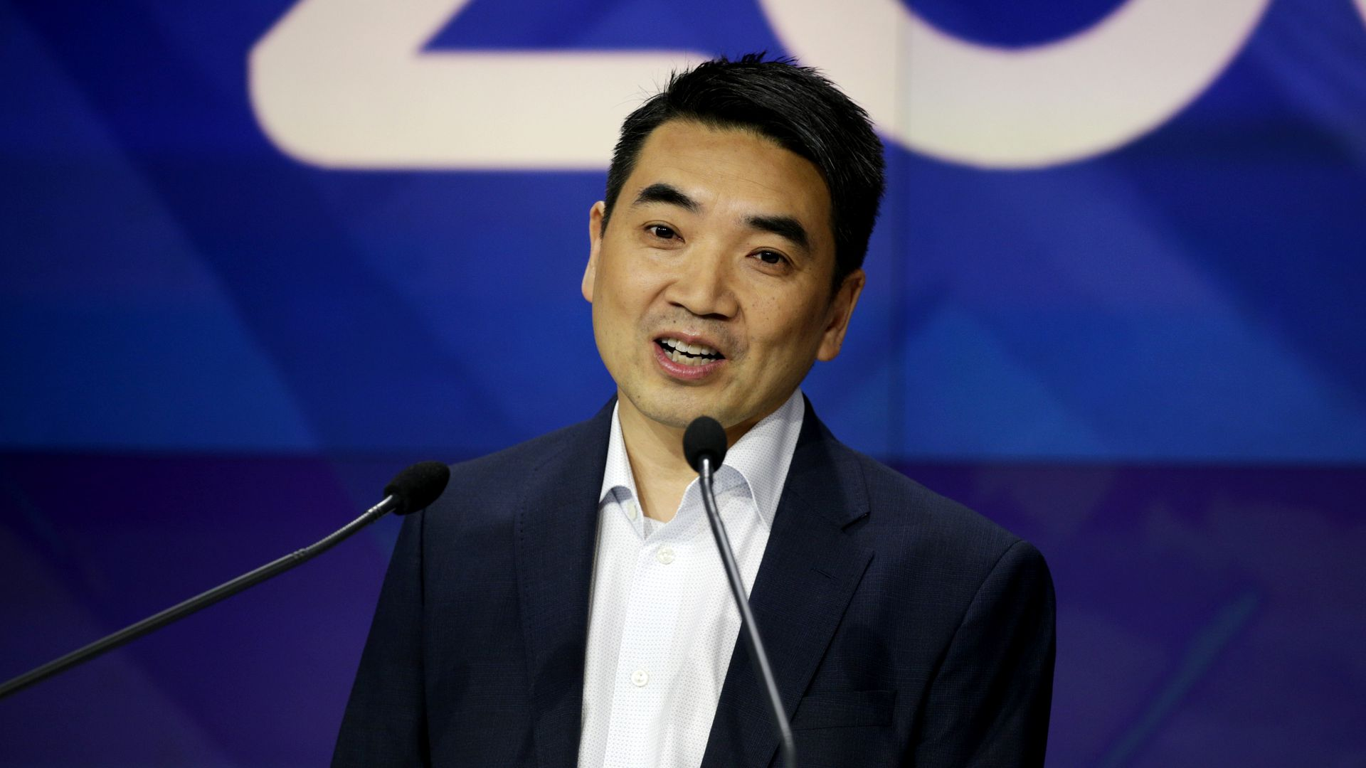 Zoom CEO Eric Yuan faces questions from lawmakers - Axios