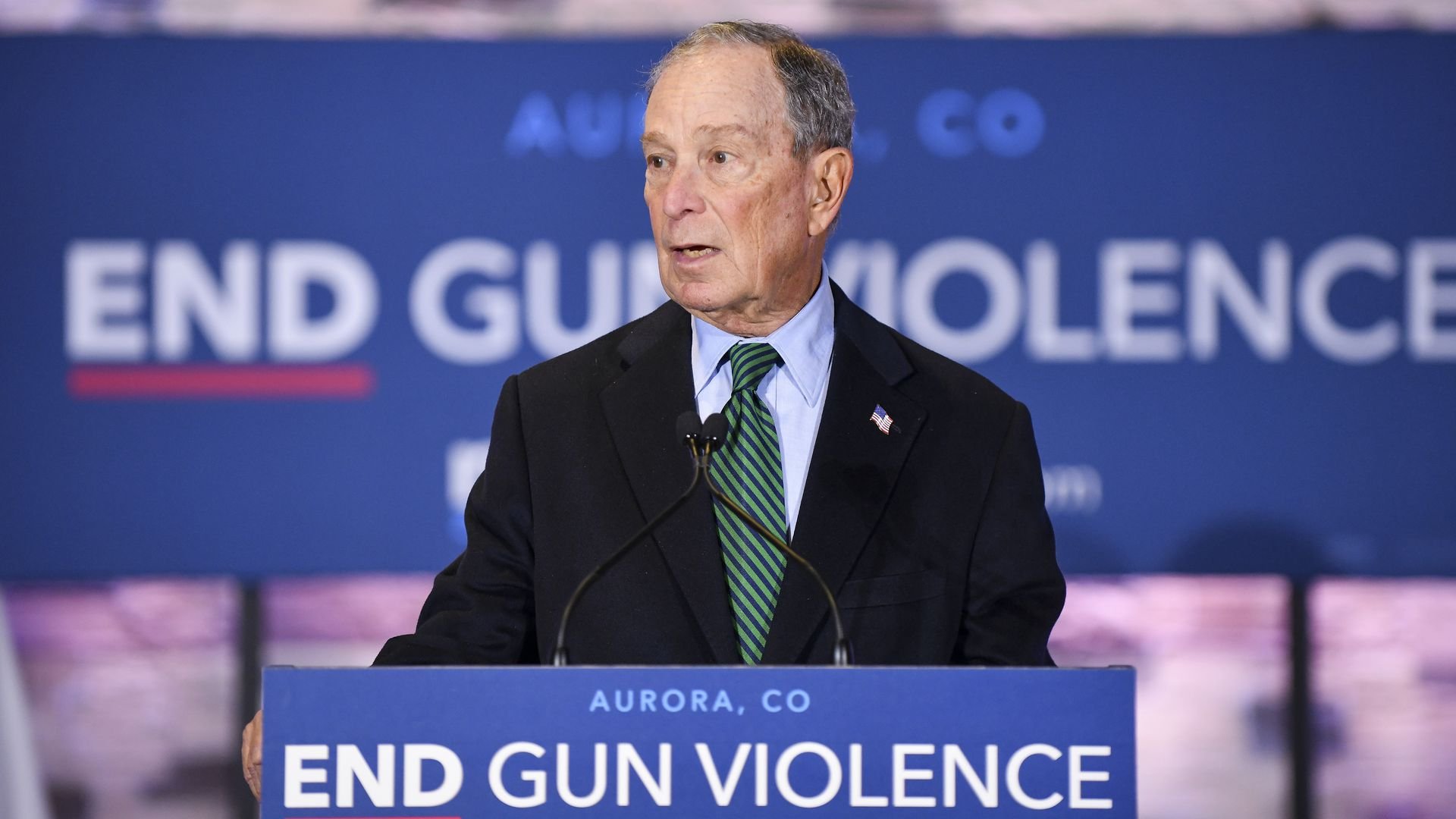 Michael Bloomberg releases 2020 gun safety plan