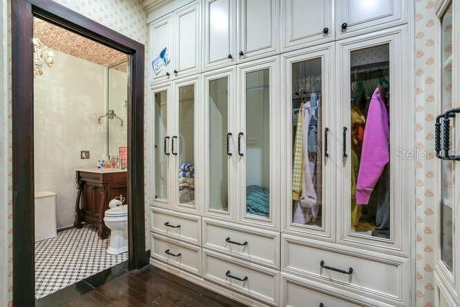 131 W. Davis Blvd closet
