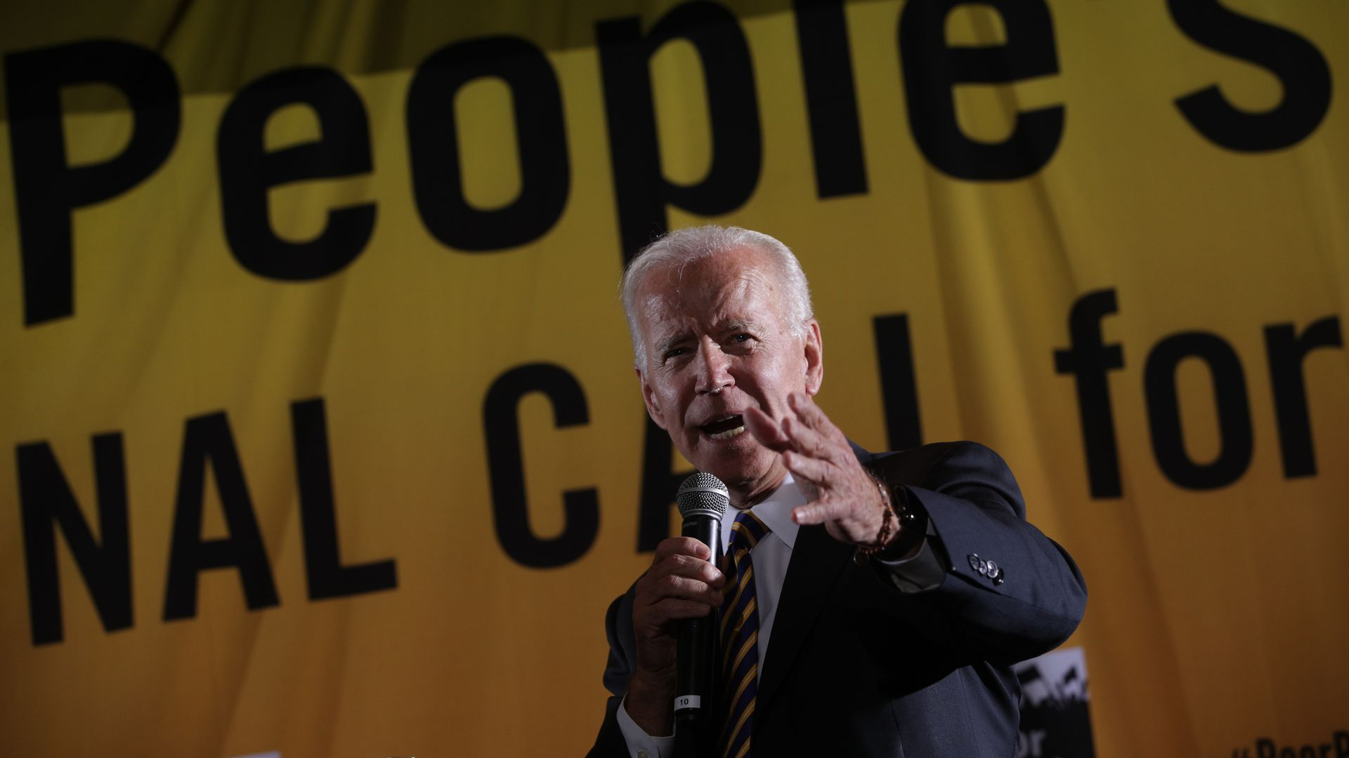 Biden defends working with Republicans to achieve consensus