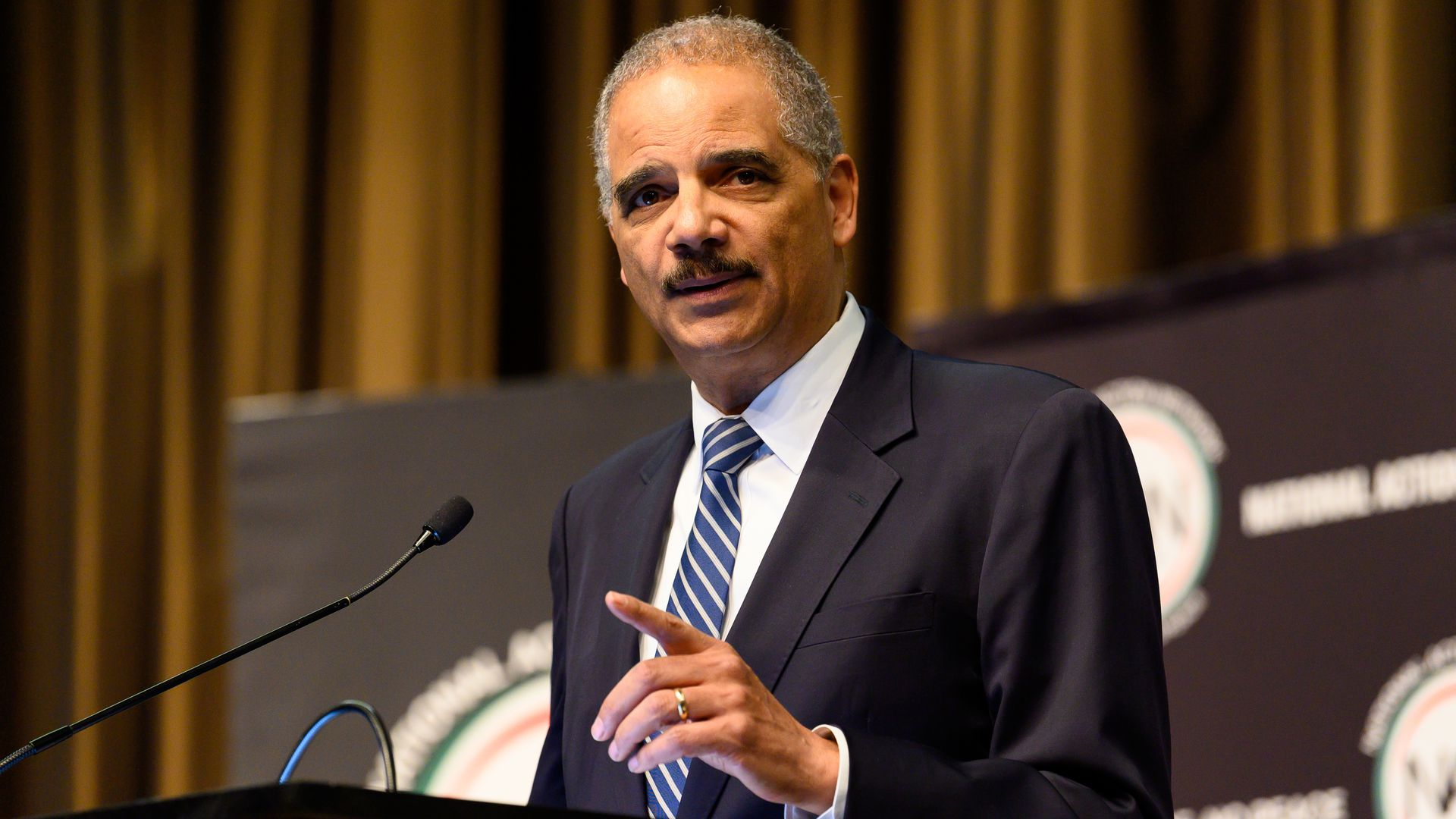 "Eric Holder says Trump could face prosecution after leaving office, but at a ""potential cost"""