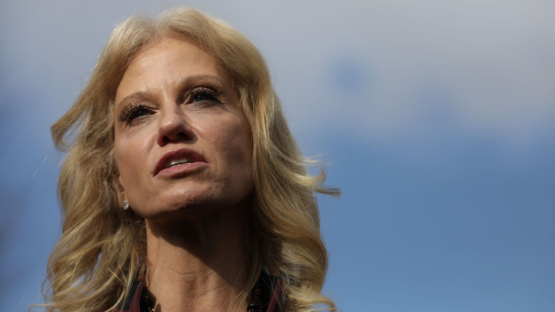 Kellyanne Conway's defense of Trump overshadowed by husband's tweets