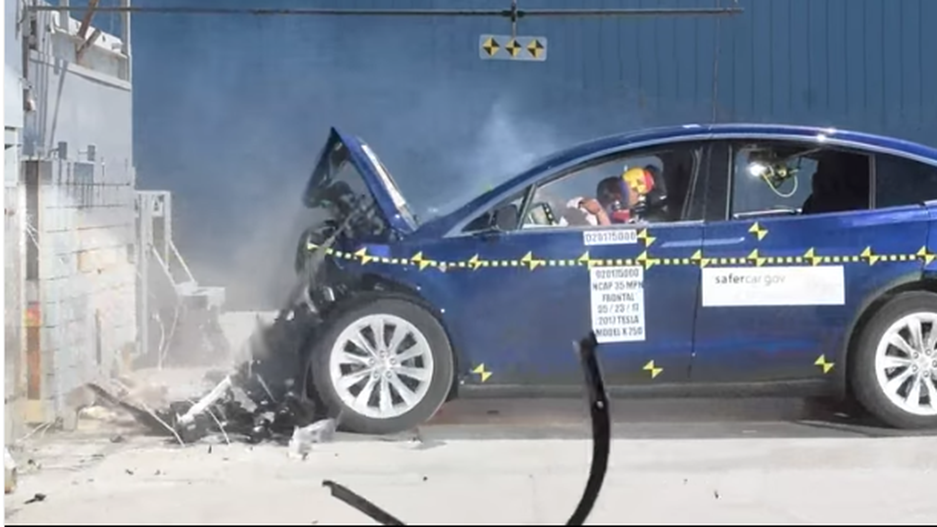 Tesla S Model X Electric Car Which Was First Unveiled In 2017 Just Received A 5 Star Safety Rating Every Category And Subcategory By The National