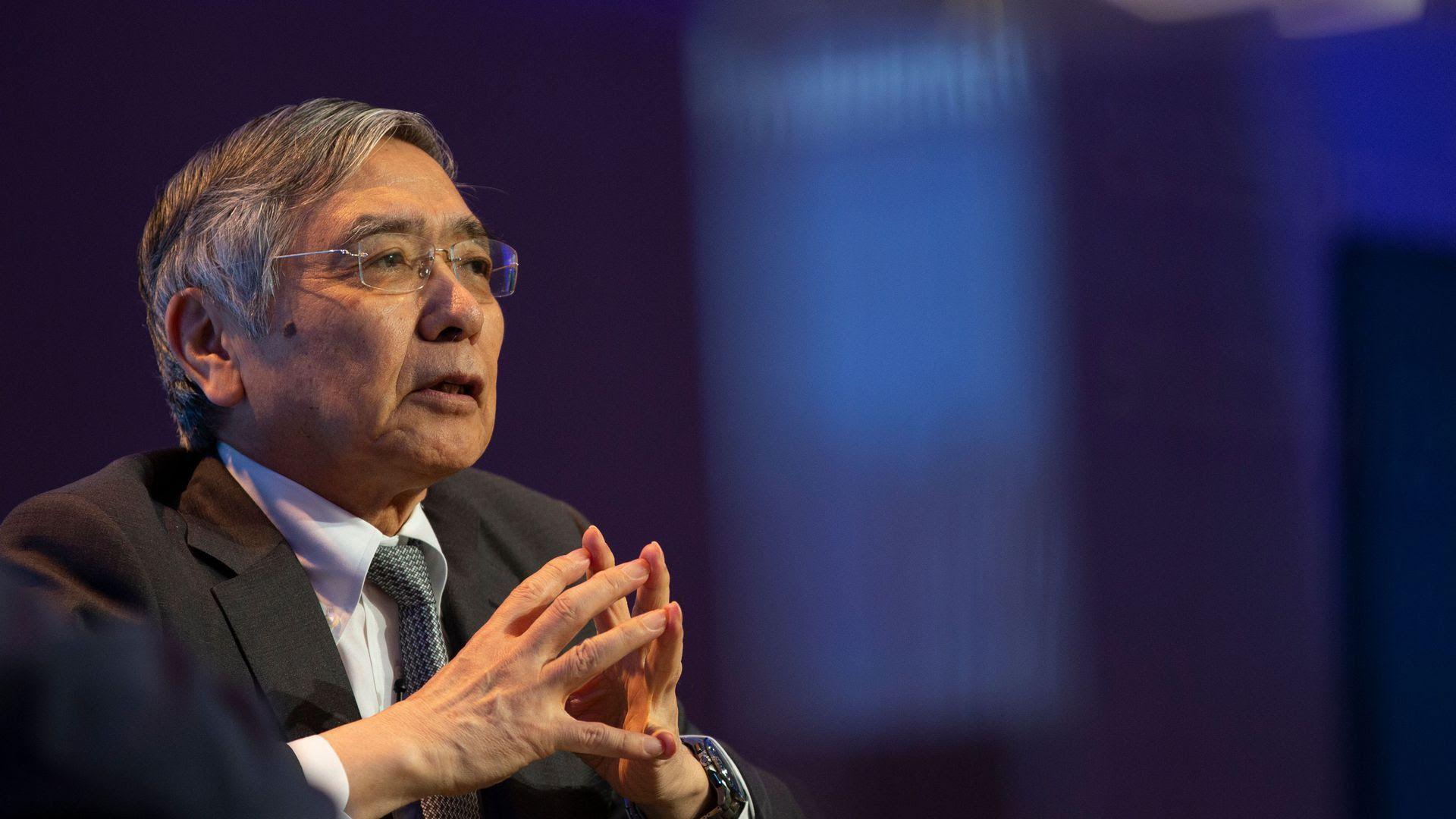 Bank of Japan Governor Haruhiko Kuroda. Photo: Alastair Pike /AFP/Getty Images