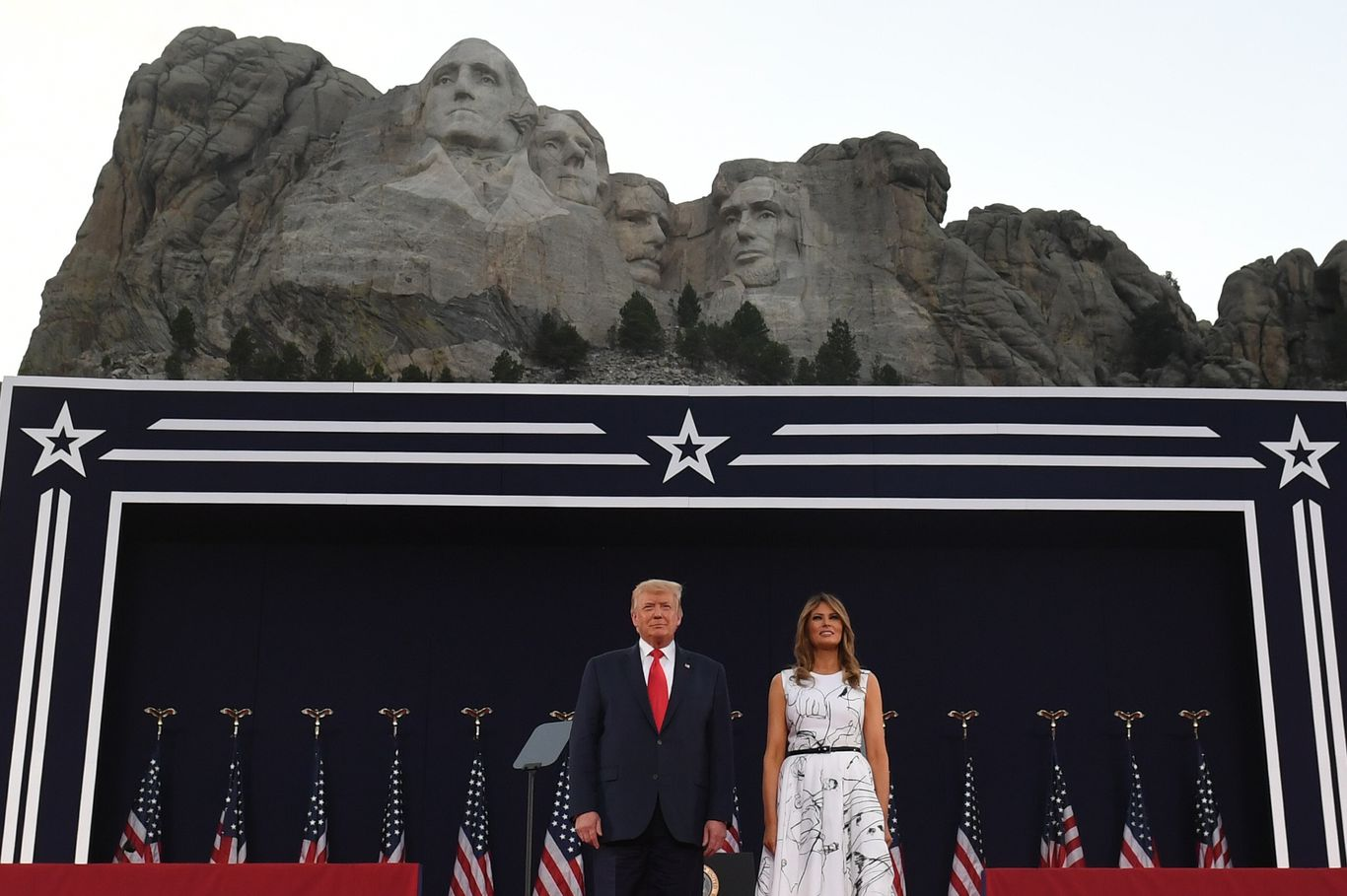 Trump casts himself as chief defender of American history in divisive speech at Rushmore